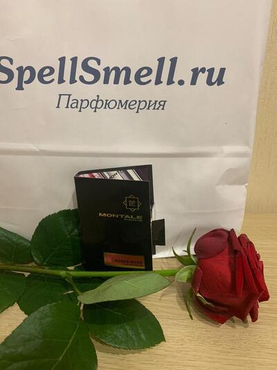 Montale Roses Musk (женский) парфюмерная вода 2 мл