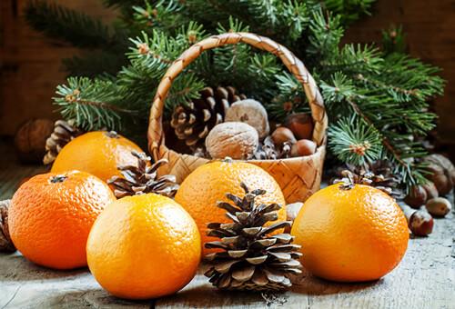 Новогодний микс: запах елки и мандарин   SpellSmell.ru