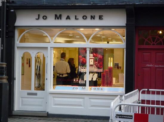 Парфюмерный магазин Jo Malone