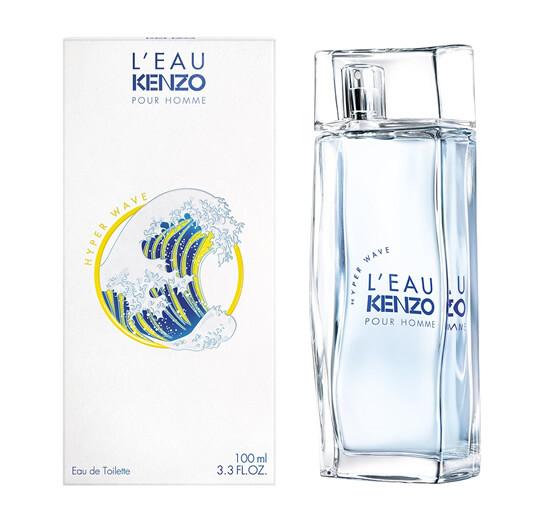 Аромат Kenzo L Eau Kenzo Pour Homme Hyper Wave
